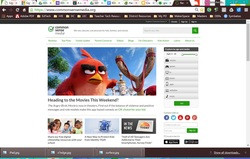 Common Sense Media website home page.